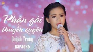 Phận Gái Thuyền Quyên - Quỳnh Trang