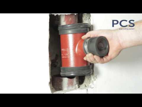 PCS Rohrschneidesystem | Pipe Cutting System | eingebaute Rohre trennen - auch schwarze Gussrohre