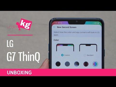 LG G7 ThinQ Unboxing [4K]