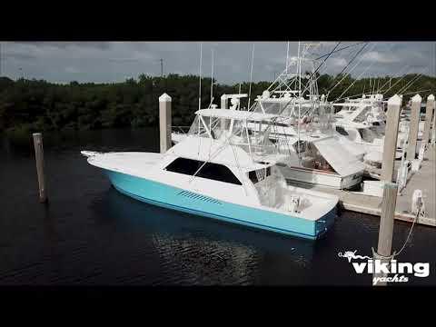 Viking 50 Convertible video