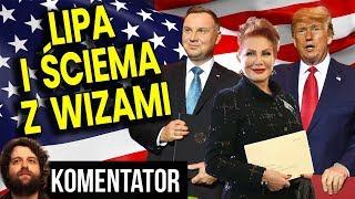 Ile Zapłaciliśmy Za Wizy do USA – Samo-Poniżenie Prezydenta Dudy i Ściema TVP – Analiza Komentator