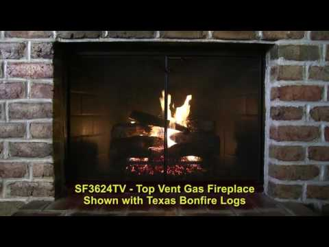 Golden Blount Texas Bonfire Vented Gas Log Set
