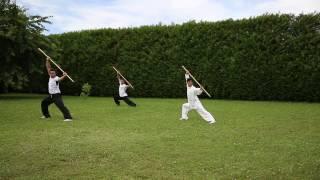 Démonstration de Kung fu bâton