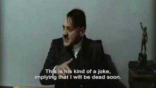 Hitler hears Fegelein playing