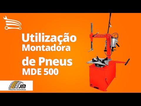 Montadora Elétrica de Pneus MDE 500 Trifásico  - Video