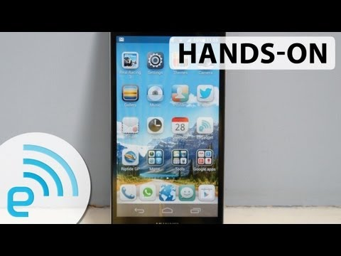Hands-on with the Huawei Ascend P6: possibly the slimmest phone available | Engadget
