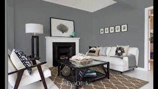 New Trend 2019 Grey Interior Wall Paint Colors