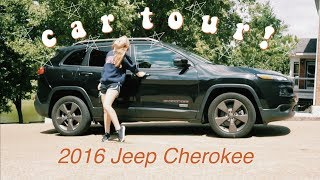 2016 Jeep Cherokee CAR TOUR Ll Whats In My Car 2019!
