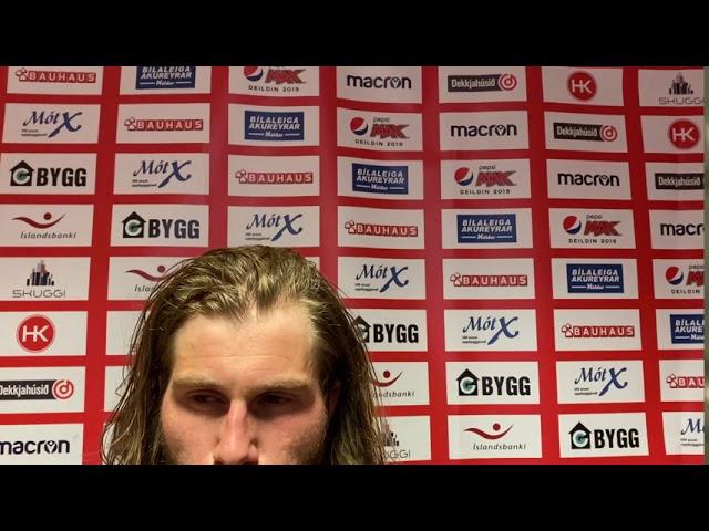 Óskar Örn Hauksson: Við gerðum ekki nóg