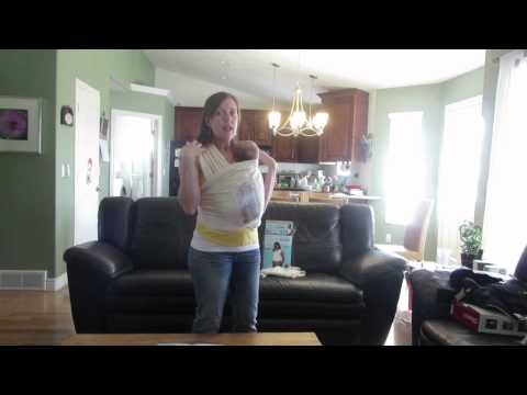 Baby K'tan Carrier Review (with a newborn)