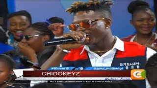 Chidokeyz: I Am Not Related To Davido's Girlfriend In Any Way  #10over10