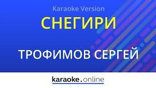 Снегири - Сергей Трофимов (Karaoke version)