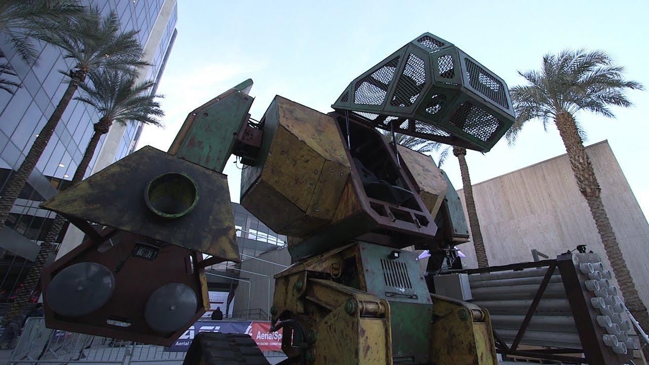 Megabot Mk. II is a giant robot hoping to win a mech battle thumbnail