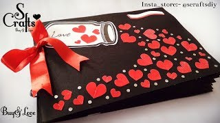 Scrapbook 💗 | Handmade | S Crafts | Gift For Her | Gift For Him | Scrapbook Ideas | Handmade Gifts.