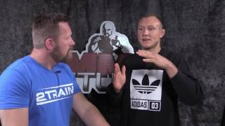 Jack Hermansson gjester MMA Studio 4