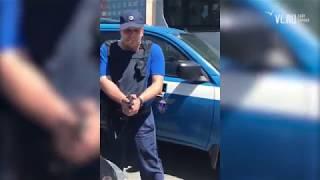 """VL.ru - Сотрудники """"Спецсвязи"""" грозились застрелить водителя на Некрасовском путепроводе"""