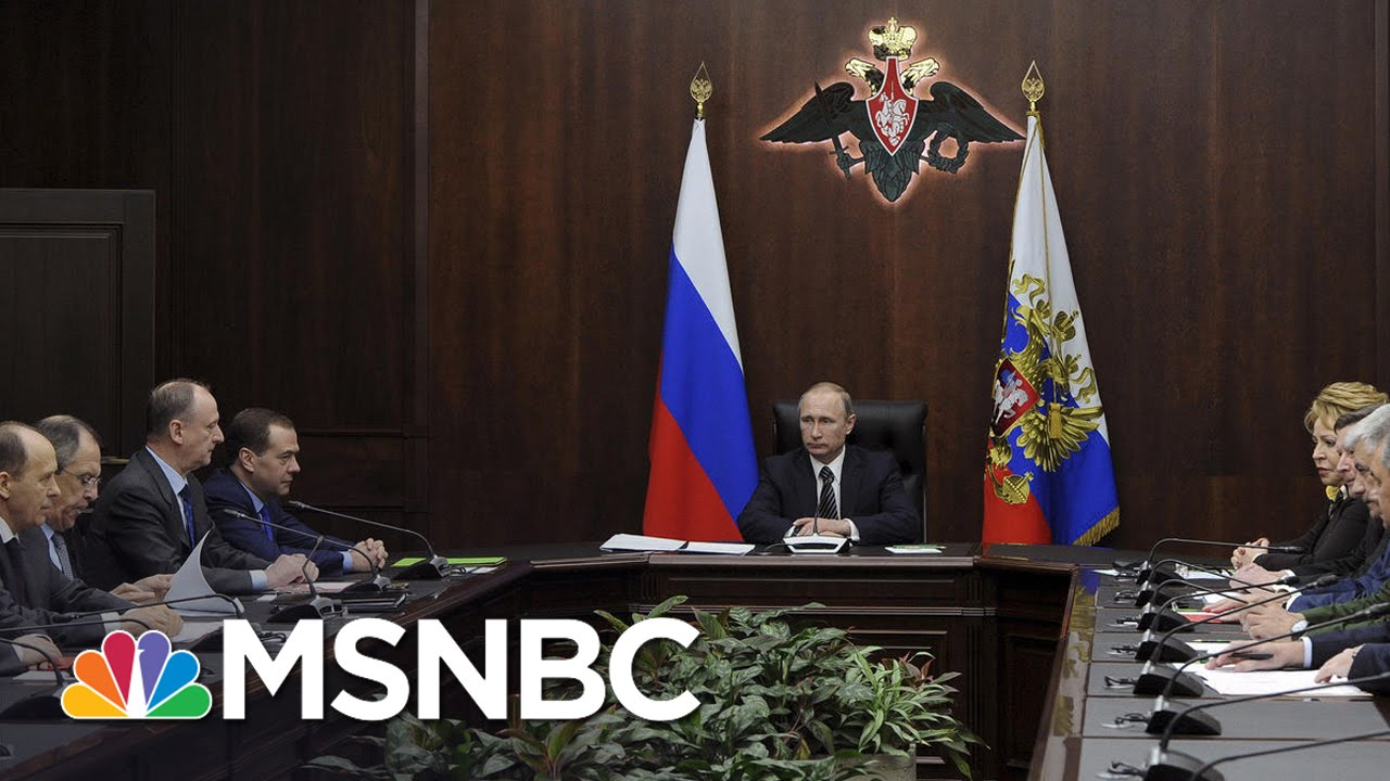 Vladimir Putin Orders Russian Troops Out Of Syria | NBC News thumbnail