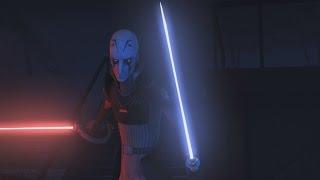 Star Wars Rebels - Kanan & Ezra vs. The Inquisitor & Stormtroopers [1080p]