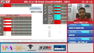 IDRL Stay@Home Championships S1Ep10 Live - Grande Finale