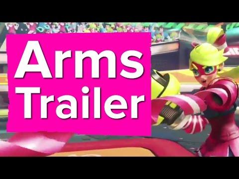 Arms Trailer - Nintendo Switch thumbnail