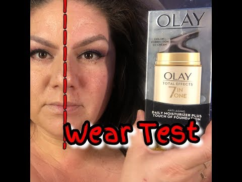 Olay Total Effects CC Cream Daily Moisturizer + Touch of Foundation