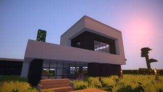 Minecraft Modern House Modernes Haus HD Most Popular Videos - Minecraft hauser schnell bauen