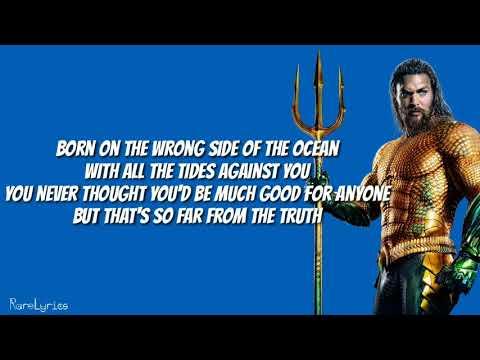 Aquaman Soundtrack - Everything I Need (Lyrics Video) Skylar Grey