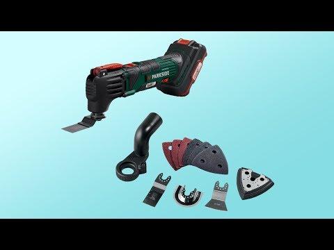 Parkside Cordless Multi-Purpose Tool PAMFW 20-Li A1 ~ unboxing ~ Česky ᴴᴰ