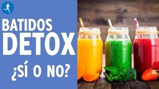Todo lo que tienes que saber sobre los batidos detox
