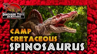 JURASSIC WORLD Camp Cretaceous SPINOSAURUS / Neue Abenteuer Review von Mattel [Deutsch/German]