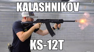 "Kalashnikov USA KS-12T 12 Gauge Semi-Auto 18"" Barrel w/Folding Stock"
