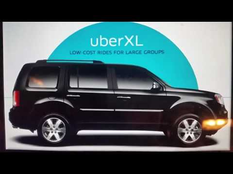 Uber XL vehicle requirements