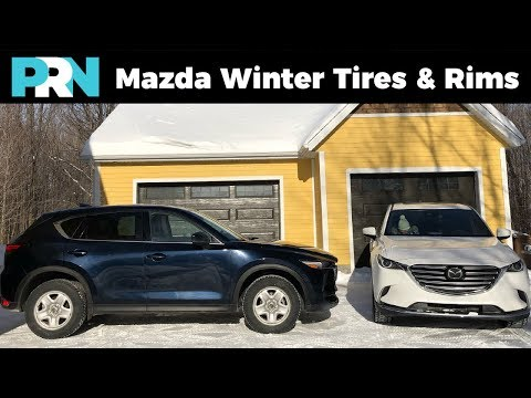 Best Winter Rims & Tires for Mazda CX-5 & CX-9 | TestDrive Garage