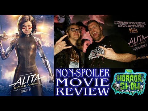 """Alita: Battle Angel"" 2019 LIVE Sci-Fi Action Movie Review – The Horror Show"