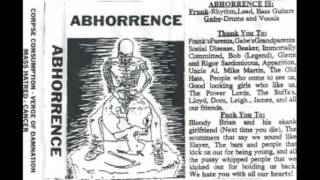 Abhorrence (US) - Verge of Damnation