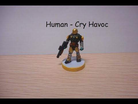 Painting Cry Havoc Humans