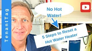 5 Steps to Reset Your Hot Water Heater 2019,