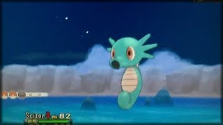 Horsea  - (Pokémon) - Pokémon X & Y - Shiny Horsea / Mi primer pokémon brillante en pokémon Y