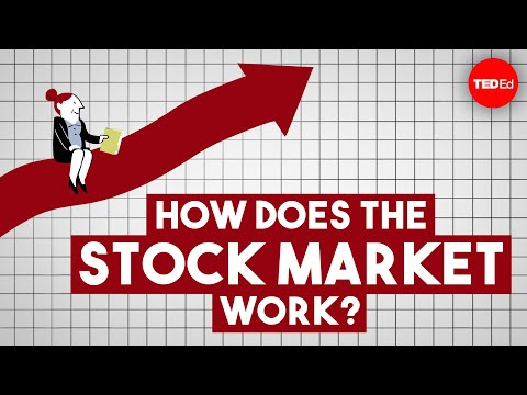 , title : 'How does the stock market work? - Oliver Elfenbaum