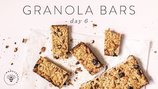 Homemade CHEWY GRANOLA BARS For Healthy #BuzyBeez 🐝 DAY 6 | HONEYSUCKLE