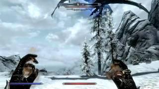 Как убить дракона Skyrim
