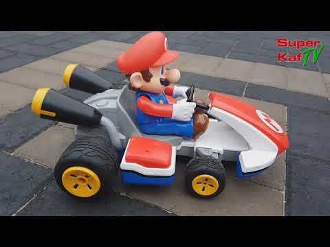 BIG 1:16 Scale MARIO KART RC Kart REVIEW - Official Licensed Nintendo Product by Carrera