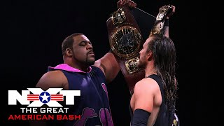 Adam Cole vs. Keith Lee – Winner Take All Championship Match: NXT Great American Bash, July 8, 2020