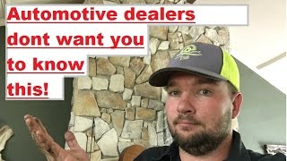 The video car dealerships dont want you to see!