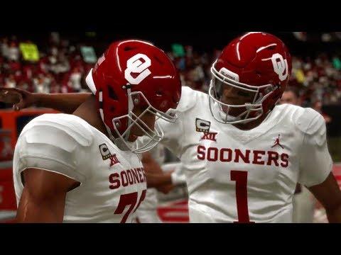 NCAA Football 19 Mod In Game Footage - смотреть онлайн на