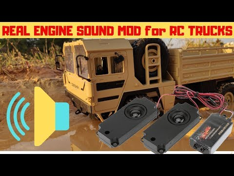 FULL REVIEW SOUND ENGINE KIT FOR ALL RC CARS AND TRUCKS | RC WITH POPEYE