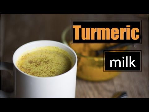 Video How to make Turmeric Milk - Herbal Medicine