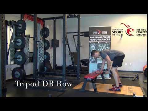 Tripod DB Row