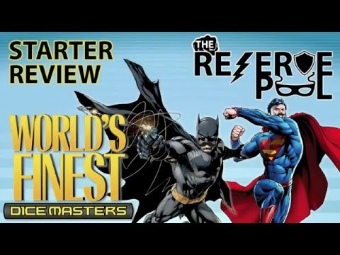 DC Dice Masters World's Finest Starter Review: Characters part 4