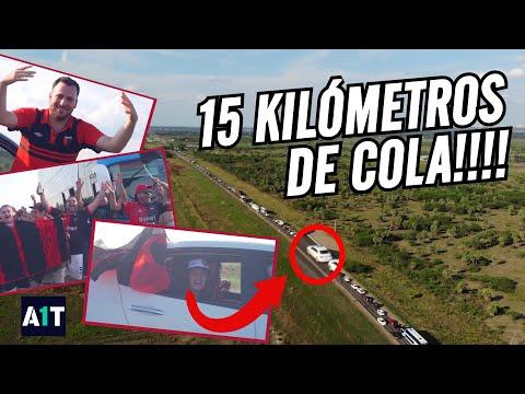 """""""🔴 HISTÓRICO ÉXODO SABALERO ⚫ RECORD INTERNACIONAL de los HINCHAS de COLÓN"""" Barra: Los de Siempre • Club: Colón"""